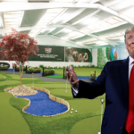 Trump Orders Golf Course Installed Inside White House So He Can Properly Self-Quarantine